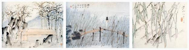 De : Album de paysages et de personnages - Album aux motifs végétaux et animaliers